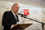 Lord Guthrie speaking at World Homeless Day