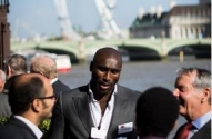 Sol Campbell at World Homeless Day