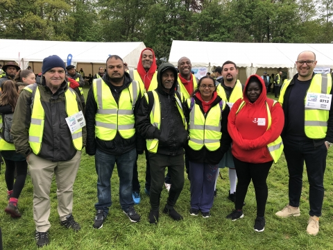 Caritas Anchor House at the Charity Walk for Peace