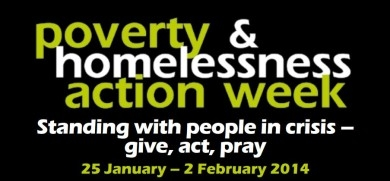 Poverty and Homelessness Action Week logo
