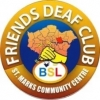 Friends and Deaf club logo