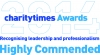Charity Times Award - Highly Commended logo