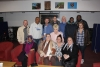 staff and residents pictured with Dame Barbara Windsor