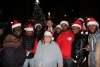 CAH choir pictured in front of christmas tree