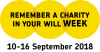 Remember a Charity Week logo