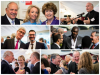 Collage of photos from the World Homeless Day event